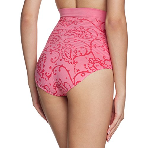 belly cloud Damen Miederslip allover Paisley Rosa (hot pink 522)