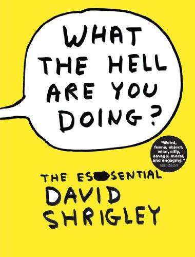 What the Hell Are You Doing?: The Essential David Shrigley por David Shrigley
