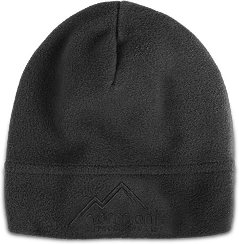 normani Trendige Winter- & Skimütze aus Mikrofleece Farbe Grey | 09858600240514