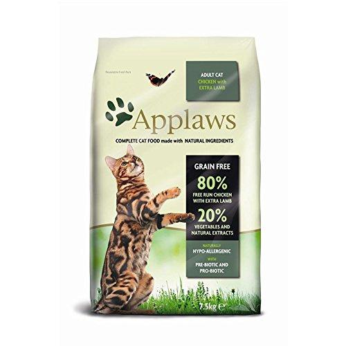 Applaws Katze Trockenfutter Hühnchen mit Lamm, 1er Pack (1 x 7,5 kg)