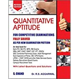 Quantitative Aptitude Fully Solved Book in English By Dr. R S Aggarwal for All Competitive Exams