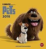 Pets Postkartenkalender - Kalender 2018