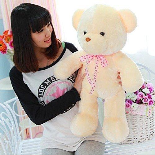 MFEIR Orsacchiotto dello LED colorato bambola Orso e i giocattoli di peluche con musica Regalo di compleanno per ragazza 35cm - 6