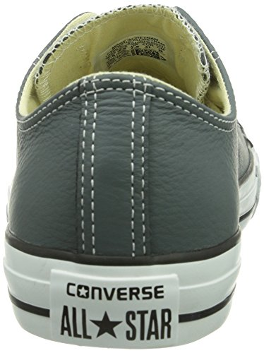 Converse Chuck Taylor All Star Adulte Seasonal Leather Ox, Unisex-Erwachsene Hohe Sneakers Grau (12 Gris)