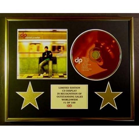 DANIEL POWTER/CD Display/Limitata Edizione/Certificato di autenticità/DP