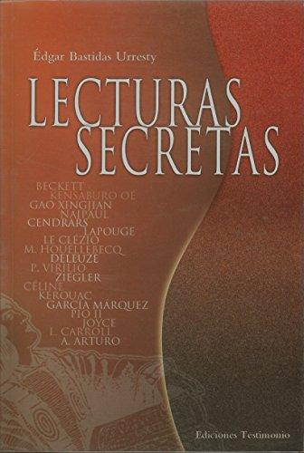 Lecturas Secretas por Edgar Bastidas Urresty