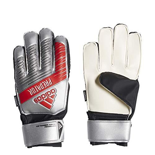 adidas Performance Predator Top Training Fingersave Torwarthandschuhe Herren Silber/rot, 7 - Adidas Training Top