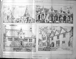 Costruttore 1906 di architettura della chiesa di salisbury for Costruttore di case virtuali