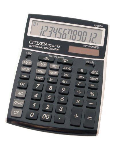 citizen-ccc-112-bk-premium-calculatrice-pupitre-bureau-12-grands-chiffres-lcd-12-big-digits-metallis