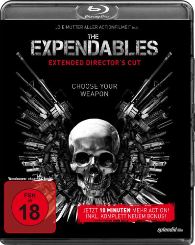 Bild von The Expendables - Extended [Blu-ray] [Director's Cut]