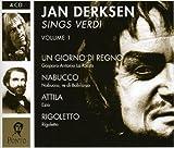 Jan Derksen Sings Verdi 1 [Import anglais]