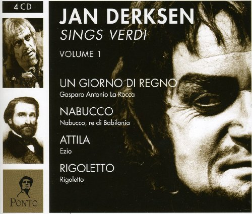 Jan Derksen Sings Verdi 1 [Import anglais]