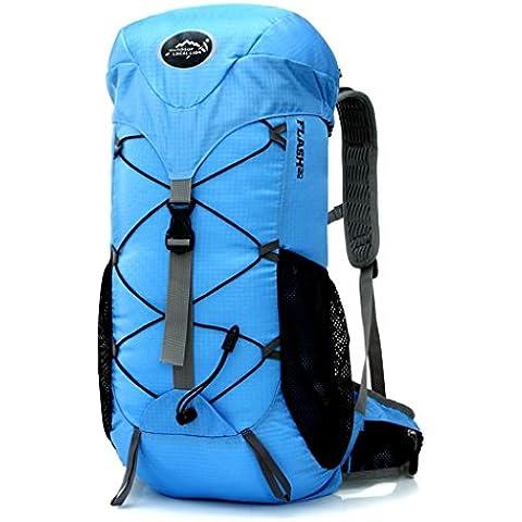 Local Lion macuto, bolso mochila de deporte al aire libre, mochila para camping, montañismo, excursion, senderismo, viaje
