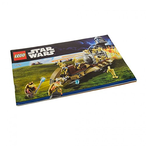 1 x Lego System Bauanleitung (ca. A5 klein) für Star Wars Episode 1 The Battle of Naboo 7929 (Lego Star Wars Naboo Battle)