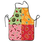 Photo de Fs2A1X Unisex Waterproof Aprons Fruit Platter Kitchen Apron for Cooking Gardening par Fs2A1X