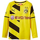Puma BVB - Camiseta de fútbol para niño (del equipo Borussia Dortmund) amarillo amarillo/negro Talla:176