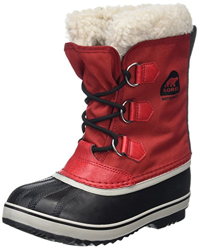 Sorel Kinder Yoot Pac Nylon Stiefel, rot (rocket)/schwarz (nocturnal), Größe: 37 - Sorel Kids Yoot Pac Boot