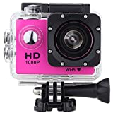Vemont Action Cam Sport WIFI 1080P 30FPS 12MP impermeabile 30M Shockproof 170 °...