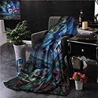 Soft Blankets Night Sky Mysterious Night Clouds for Bed Couch Chair