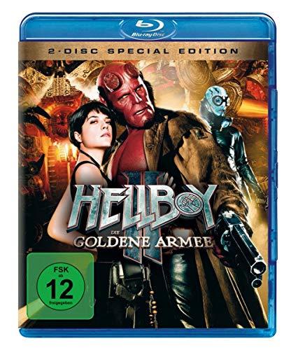 Hellboy 2 - Die goldene Armee  (+ DVD) [Blu-ray] (Hellboy 3 Film)