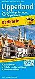 Lipperland, Detmold - Bad Pyrmont - Bad Oeynhausen: Radkarte mit Ausflugszielen, Einkehr- & Freizeittipps, wetterfest, reißfest, abwischbar, GPS-genau. 1:75000 (Radkarte / RK) -