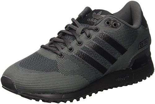 adidas - ZX 750 WV, Scarpe sportive Uomo, Nero (Core Black/core Black/dark Grey), 40 2/3 EU