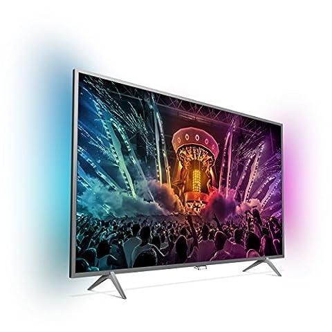 Philips 43PUS6201/12 108 cm (43 Zoll) Fernseher (4K Ultra-HD, Pixel Plus, Ambilight, Smart TV, Triple-HD Tuner)