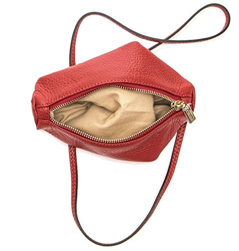 Coccinelle Borsa Donna Mini Bag Pelle Vitello Rosso Envío Libre Para Barato PJmDql