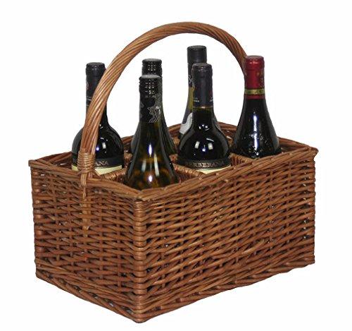 Double Steamed 6Door Drinks Bottle Basket