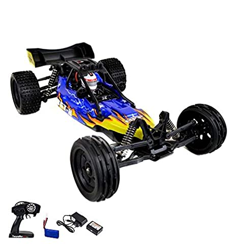 1:12 HSP Elektro Off-Road RC ferngesteuerter Buggy Modell mit LiPo-Power, 2WD Antrieb, Digital vollproportionale Steuerung Top-Speed bis zu 40 km/h, Komplett-Set RTR