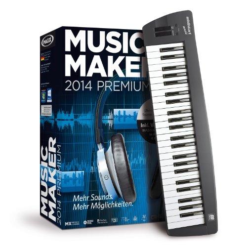 Musik Stehen Digitale (MAGIX Music Maker 2014 Control)