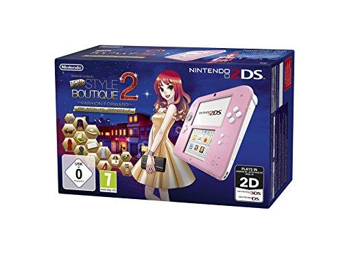 Nintendo 2DS – Konsole (pink) inkl. New Style Boutique 2 – Mode von Morgen (vorinstalliert)