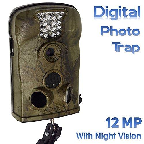 Maginon-WK2-HD-cmara-y-foto-Vida-Salvaje-con-Digital-de-visin-nocturna-12-MP-con-resolucin-de-vdeo-HD-con-un-soporte-de-paredsoporte-Stock-Clearance-artculos