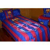 Juego de sábanas FC Bacerlona FUTS04 (para cama de 90x190/200)