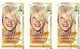 Garnier Belle Color Haarfarbe für Damen, 3 Stück, Farbe 111Extra helles Aschblond