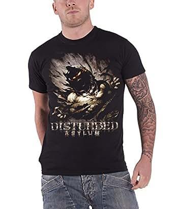 Disturbed Asylum New Official Mens Black T Shirt All Sizes