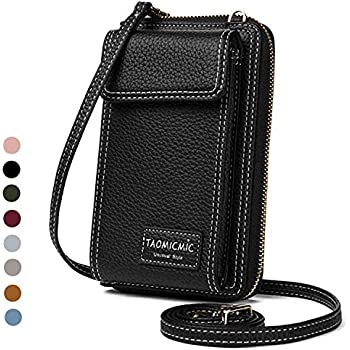 Damen Geldbörse Leder Handy Wallet Case Mini Kleine