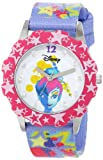 Disney Kids' W000411 Disney Tween Glitz Tinker Bell Stainless Steel Watch With Printed Nylon Band best price on Amazon @ Rs. 2167