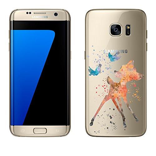Samsung-Galaxy-S7-Edge-Hlle-von-licaso-aus-TPU-schtzt-Dein-S7-Edge-55-Bambi-Reh-Disney-Klopfer-Schutz-Hlle-transparent-klare-Schutzhlle-Tasche-Silikon-Style-Samsung-Galaxy-S7-Edge-Bambi