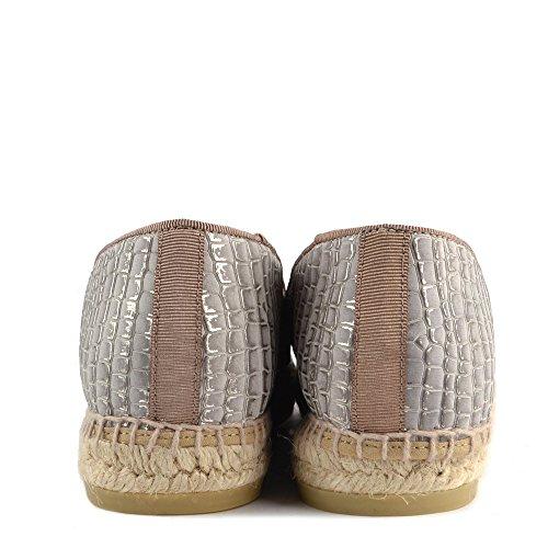 Kanna Chaussures Dora Espadrilles Gris Femme Gris