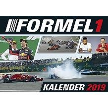 Formel 1 2019 - Motorsportkalender, Rennsport Kalender 2019, Autokalender, Fotokalender - 42 x 29,7 cm