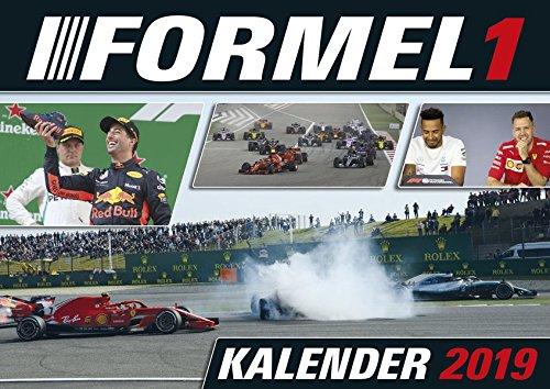 Formel 1 2019: Broschürenkalender A3