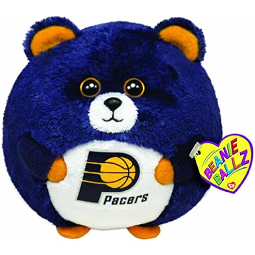 peluches TY Beanie Ballz Indiana Pacers – NBA Ballz