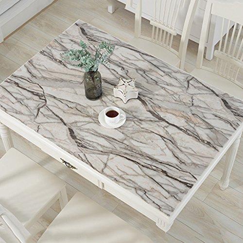 Nappes Transparent Table Tissu PVC Matériaux Plaque de Cristal Doux Verre Placemat Parlor En Plastique Étanche Anti-brûlure Jade (taille : 70×130CM)