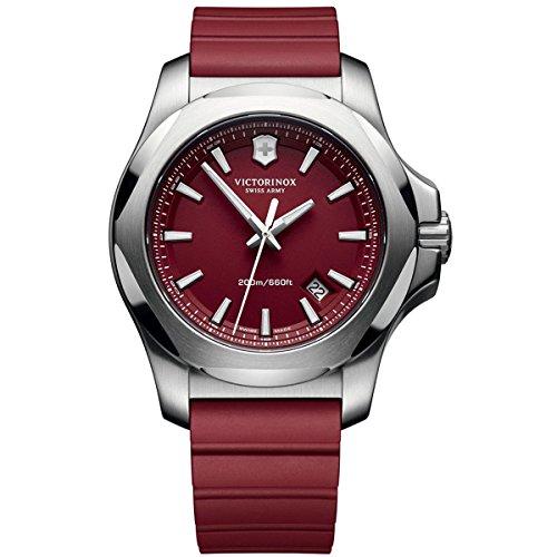 victorinox-swiss-army-2417191-montre-homme-quartz-analogique-bracelet-plastique-rouge