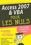 Access 2007 et VBA pour les Nuls