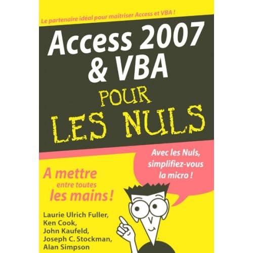 ACCESS 2007 VBA MEGAPOCHE