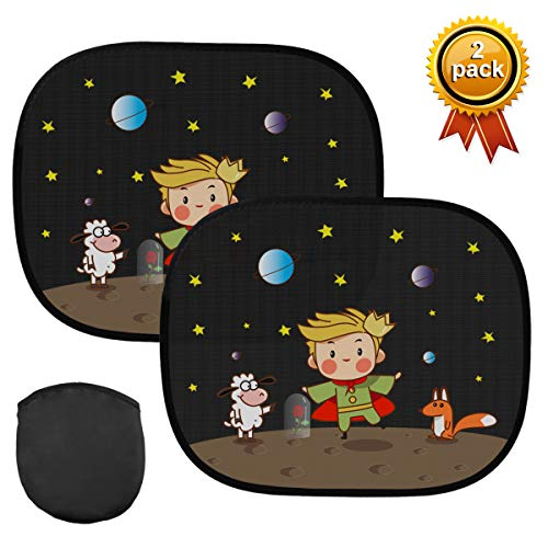 Kungber parasole per auto per bambini con motivo cartoni animati