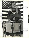 Vintage Photos 1989Press Photo Jody Haydel Sélectionnés–Porte-clé en Forme de Stade High School Band