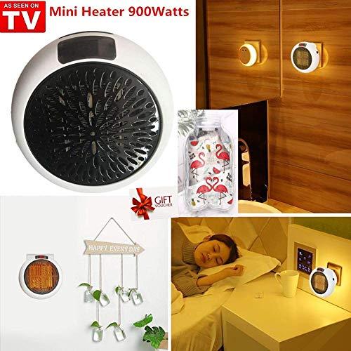 Nifogo Mini Heater - Estufa Eléctrica Portátil Bajo